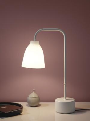 Caravaggio Read opalglas bordlampe