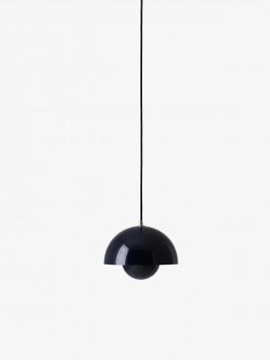 Flowerpot VP1 pendel Black Blue